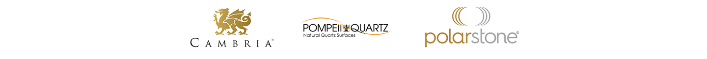 Countertop Brands: Cambria, Pompeii Quartz and Polar Stone