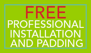 Free professional installation and padding with any Stainmaster carpet purchase during the Summer Sale at Flooring USA in Stuart!