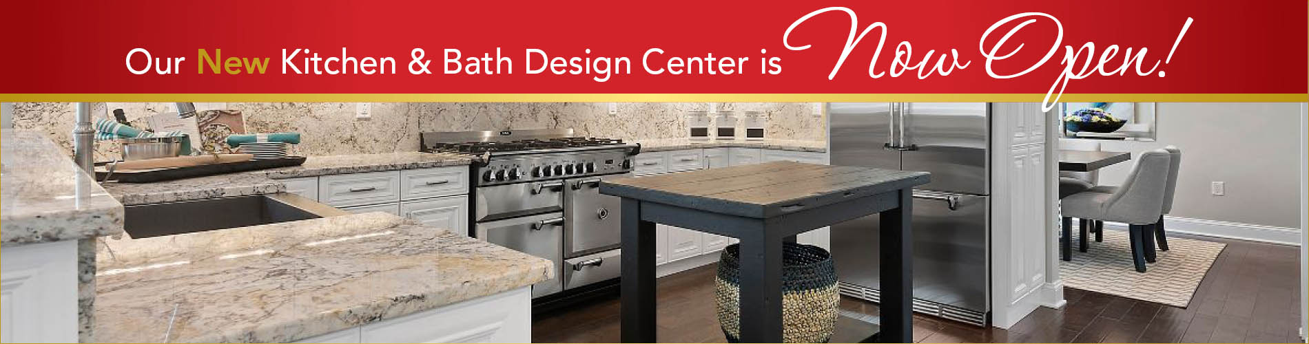 Our New Kitchen U0026 Bath Design Center Is Now Open! Come Visit Us Today!