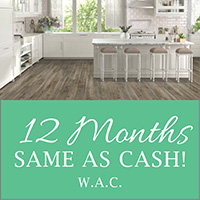 12 Months Same As Cash W.A.C - Flooring USA Abbey Kitchen & Bath Design Center in Stuart, Florida