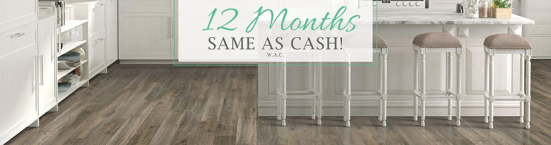 12 Months Same As Cash W.A.C - Flooring USA Abbey Kitchen & Bath Design Center in Stuart, Florida