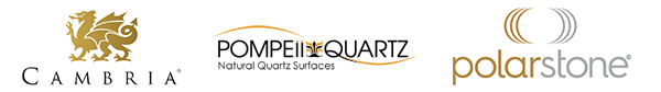 Countertop Brands: Cambria, Pompeii Quartz and Polar Stone