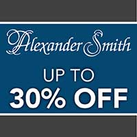 Alexander Smith sale 30% off at Flooring USA Kitchen and Bath Design Center