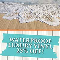 Waterproof Luxury Vinyl 25% OFF at Flooring USA in Stuart!