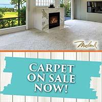 Masland carpet on sale now at Flooring USA in Stuart!
