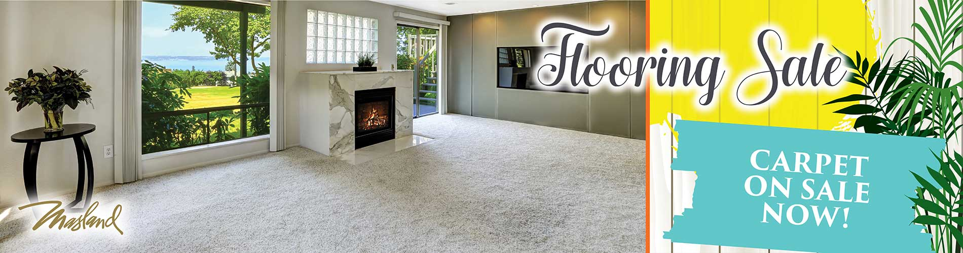 Masland carpet on sale now at Flooring USA in Stuart!