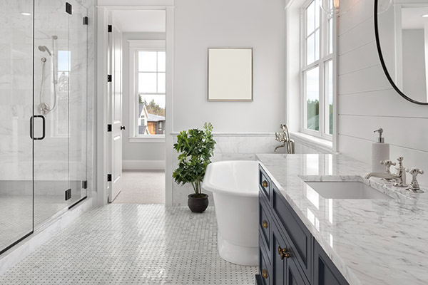 Bathroom remodeling at Flooring USA