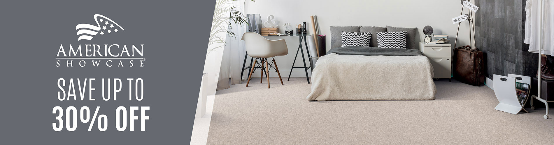 Save up to 30% off on American Showcase at Flooring USA Abbey